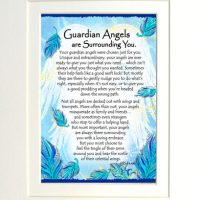 "Guardian Angels are Surrounding You. – (Kukana) 8 x 10 Matted ""Gifty"" Art Print"