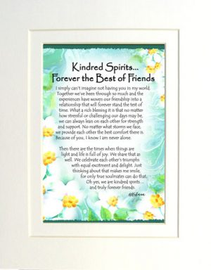 Kindred Spirits - Matted Art Print