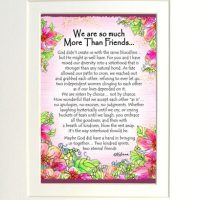 "We are so much More Than Friends… – (Kukana) 8 x 10 Matted ""Gifty"" Art Print"