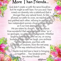 """We are so much More Than Friends… – (Kukana) 8 x 10 Matted """"Gifty"""" Art Print"""