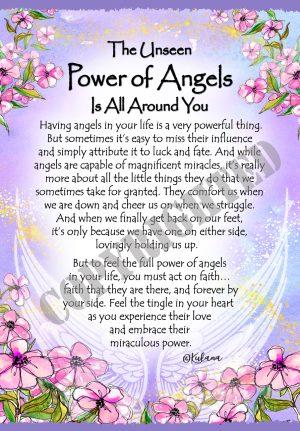 Power of Angels - Art Print