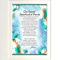 "Our Sacred Sisterhood of Friends – (Kukana) 8 x 10 Matted ""Gifty"" Art Print"