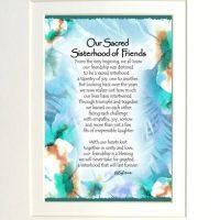 "Our Sacred Sisterhood of Friends – (Kukana) 8 x 10 Matted ""Gifty"" Art Print"