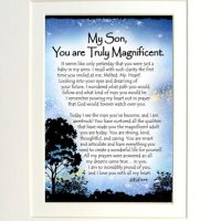 """My Son, You are Truly Magnificent. – (Kukana) 8 x 10 Matted """"Gifty"""" Art Print"""