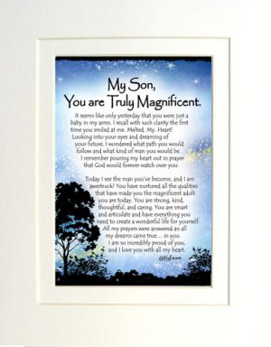 Magnificent Son - Matted Art Print
