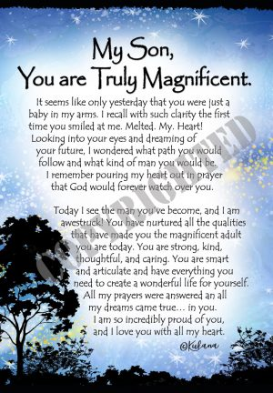 Magnificent Son - Art Print