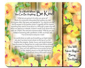 Be Kind - Snack Mat - Hi_RES