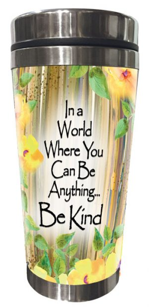 Be Kind (Kukana) Stainless Steel Tumbler - FRONT