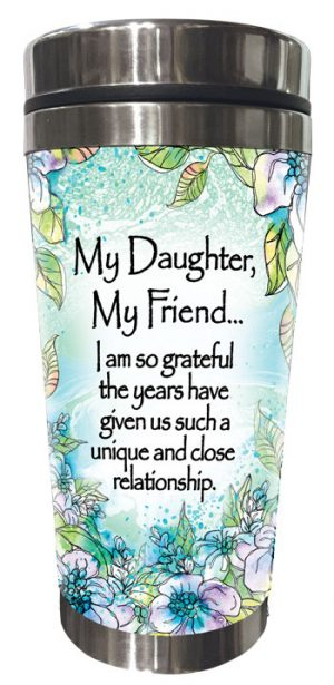 Daughter Friend (Kukana) Stainless Steel Tumbler - FRONT