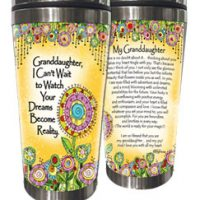 Granddaughter, I Can't Wait to Watch Your Dreams Become Reality. – (Kukana) Stainless Steel Tumbler
