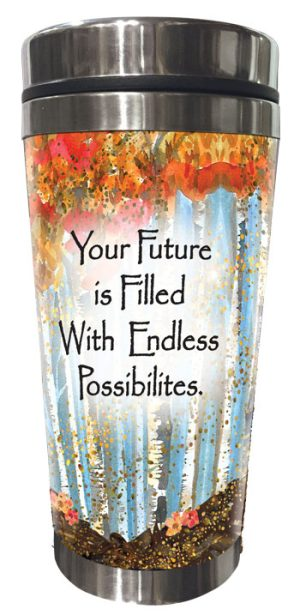 Endless Possibilities (Kukana) Stainless Steel Tumbler - FRONT