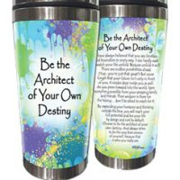 Be the Architect of Your Own Destiny. – (Kukana) Stainless Steel Tumbler