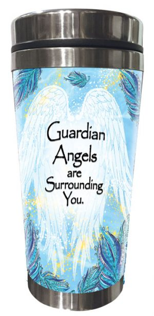 Guardian Angel (Kukana) Stainless Steel Tumbler - FRONT