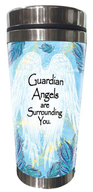 Guardian Angel (Kukana) Stainless Steel Tumbler - FRONT