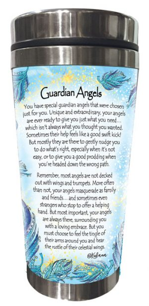 Guardian Angel (Kukana) Stainless Steel Tumbler - BACK