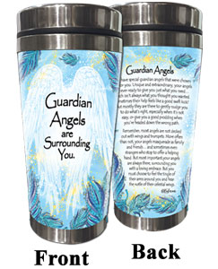 Guardian Angel (Kukana) Stainless Steel Tumbler