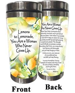 Lemons to Lemonade (Kukana) Stainless Steel Tumbler