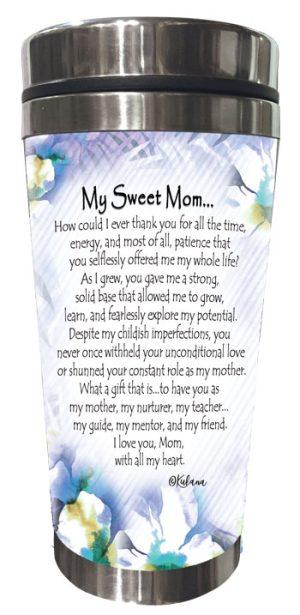 My Sweet Mom (Kukana) Stainless Steel Tumbler - BACK