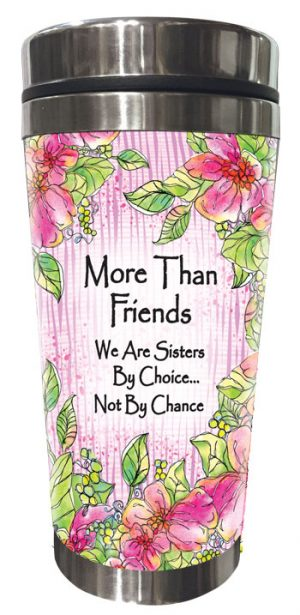 More Than Friends (Kukana) Stainless Steel Tumbler - FRONT