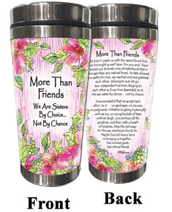 More Than Friends (Kukana) Stainless Steel Tumbler