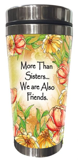 More Than Sisters (Kukana) Stainless Steel Tumbler - FRONT
