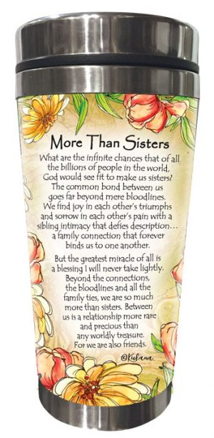 More Than Sisters (Kukana) Stainless Steel Tumbler - BACK