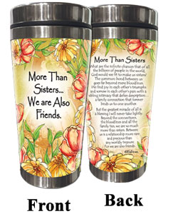 More Than Sisters (Kukana) Stainless Steel Tumbler