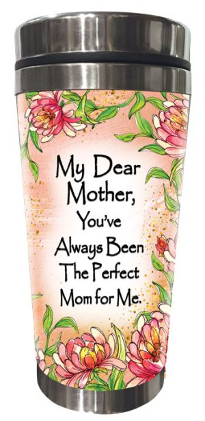 Perfect Mom for Me (Kukana) Stainless Steel Tumbler - FRONT