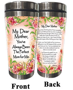 Perfect Mom for Me (Kukana) Stainless Steel Tumbler