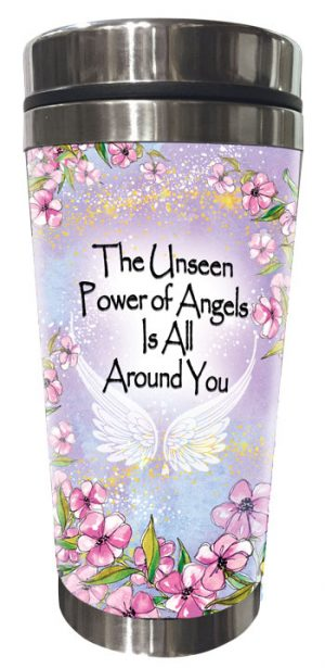 Power of Angels (Kukana) Stainless Steel Tumbler - FRONT