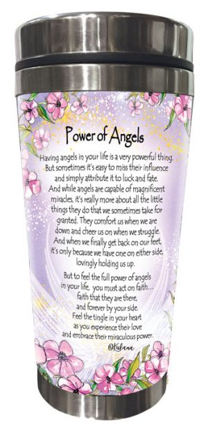Power of Angels (Kukana) Stainless Steel Tumbler - BACK