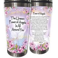 The Unseen Power of Angels Is All Around You. – (Kukana) Stainless Steel Tumbler