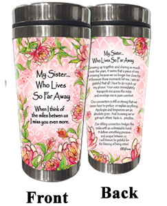 Sister, so Far Away (Kukana) Stainless Steel Tumbler