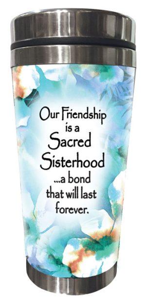 Sisterhood, Last forever (Kukana) Stainless Steel Tumbler - FRONT