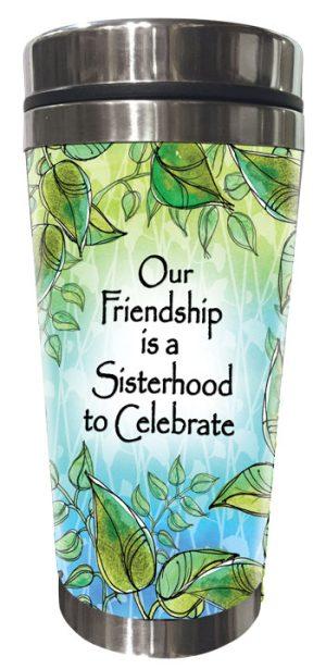 Sisterhood, Celebrate (Kukana) Stainless Steel Tumbler - FRONT