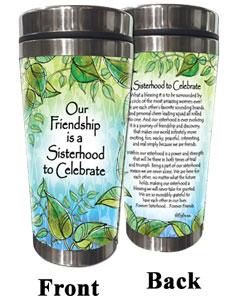 Sisterhood, Celebrate (Kukana) Stainless Steel Tumbler