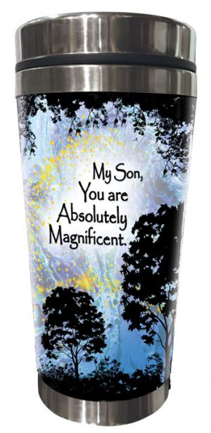 Magnificent Son (Kukana) Stainless Steel Tumbler - FRONT