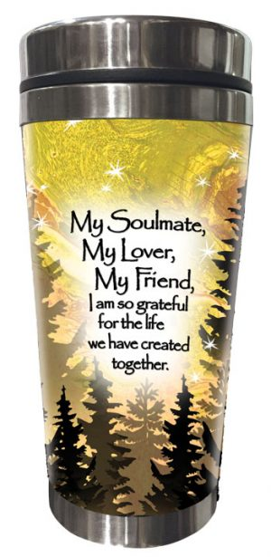 My Soulmate (Kukana) Stainless Steel Tumbler - FRONT