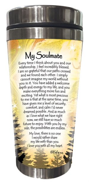 My Soulmate (Kukana) Stainless Steel Tumbler - BACK