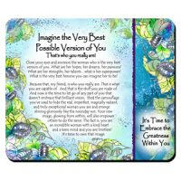 Imagine the Very Best Possible Version of You   That's who you really are! – (Kukana) Snack Mat/Mouse Pad