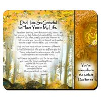 Dad, I am So Grateful to Have You in My Life. – (Kukana) Snack Mat/Mouse Pad