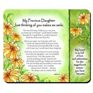 Precious Daughter - Snack Mat