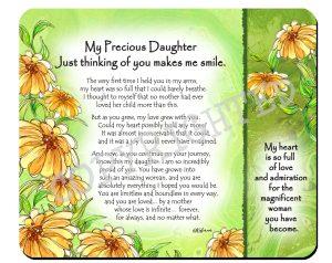 Precious Daughter - Snack Mat - Hi-RES