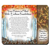 Your Future is Filled With Endless Possibilities – (Kukana) Snack Mat/Mouse Pad