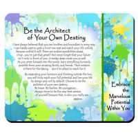 Be the Architect of Your Own Destiny – (Kukana) Snack Mat/Mouse Pad