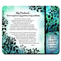 My Husband… You're my lover, my partner, & my soulmate. – (Kukana) Snack Mat/Mouse Pad