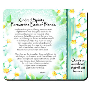 Kindred Spirits - Snack Mat