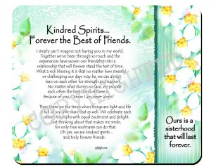Kindred Spirits - Snack Mat - Hi-RES