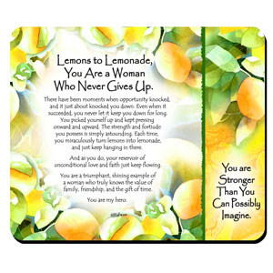 Lemons to lemonade - Snack Mat