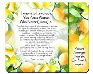 Lemons to lemonade - Snack Mat - Hi-RES